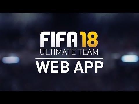 FIFA 18 ULTIMATE TEAM | WEB APP | Začátek!