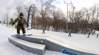 So-Gnar Snowboard Camp Tour Recap at Chestnut Mountain Resort, Illinois (2013)