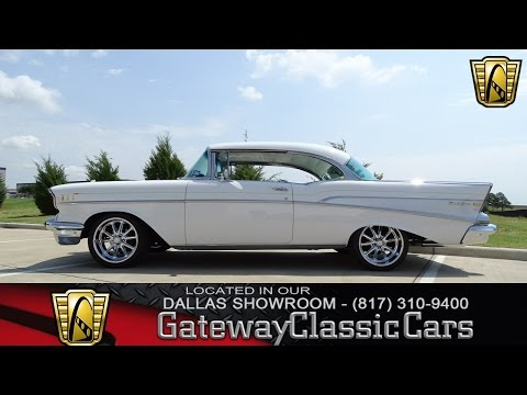 1957 Chevrolet Bel Air #437-DFW Gateway Classic Cars of Dallas