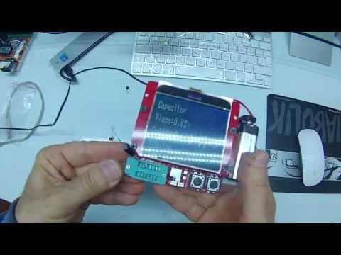 LCD Transistor Tester Capacitance ESR Meter Diode Triode MOS NPN LCR  1 nov 2014