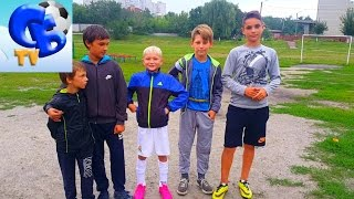 ⚽ ФУТБОЛЬНЫЙ ЧЕЛЛЕНДЖ С ПОДПИСЧИКАМИ | ⚽ FOOTBALL CHALLENGE WITH SUBSCRIBERS