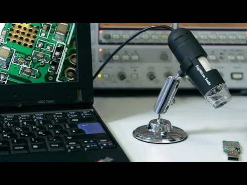 EEVblog #282 - DIY Video Soldering Microscope - YouTube