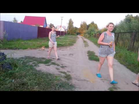 дача Виноградово МО косим траву лето в Подмосковье  июль 2016