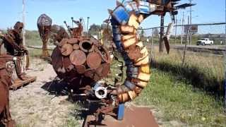 Junk Yard Art Delight