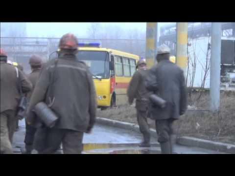 Donetsk Mine Blast Disaster: Bodies of coal mine explosion victims unloaded