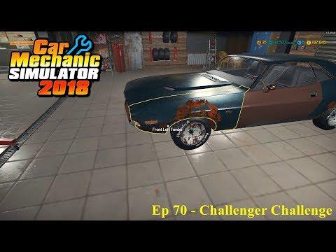Lets Play - Car Mechanic Simulator 2018 - Ep 70 - Challenger Challenge
