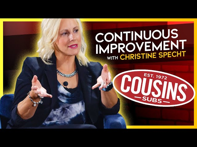 Continuous Improvement | Christine Specht | CEO Cousins Subs | YG One on One with Paul M. Neuberger