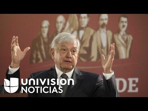 Esto fue lo que hizo el nuevo presidente de México en su primer día oficial de trabajo