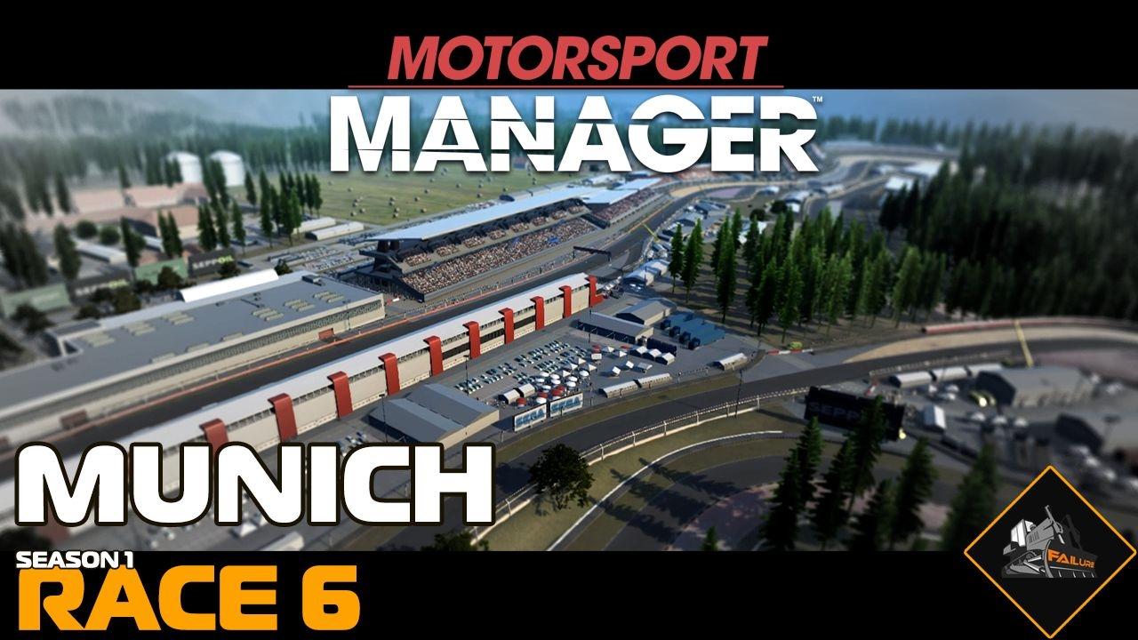 munich grand prix motorsport manager career gameplay season 1 race 6 youtube. Black Bedroom Furniture Sets. Home Design Ideas