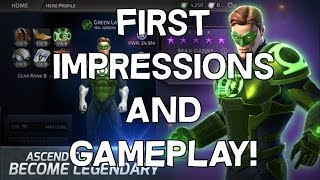 First Impressions and Gameplay - DC Legends - Android/IOS Mobile Fighting Game