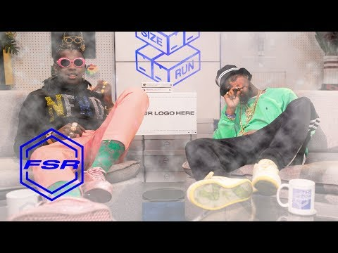Curren$y and Trinidad James Get Extremely High to Talk About Sneakers I Full Size Run