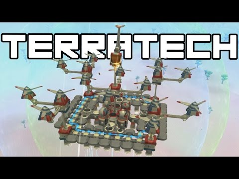 Terra Tech - Flying Refinery Base! - TerraTech Gameplay