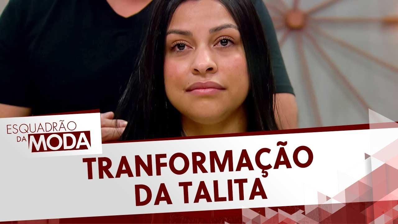 Rodrigo Cintra transforma Talita | Esquadrão da Moda
