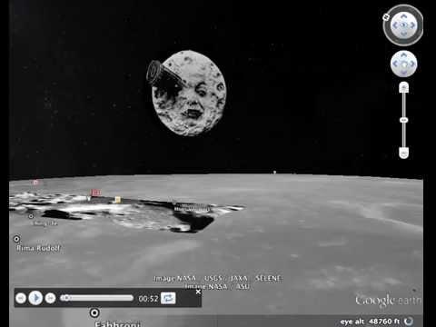 Google Earth (easter egg) Glitch