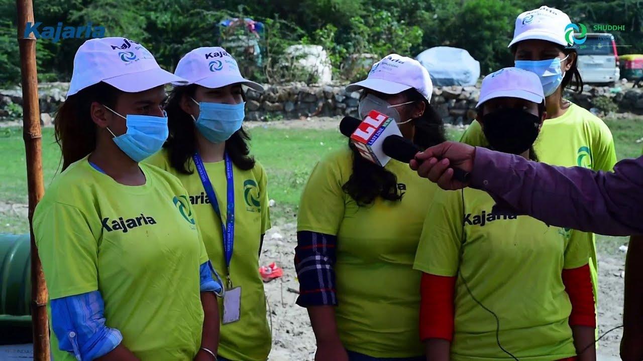Download Clean Swachh Yamuna - Shuddhi NGO with Kajaria Ceramics towards Namami Swachh Yamuna