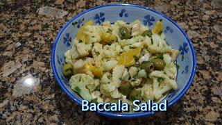 Italian Grandma Makes Baccala Salad (Dried Cod)