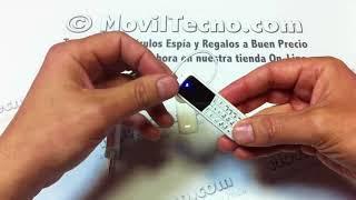 El Teléfono Móvil mas pequeño del mundo - MovilTecno.com