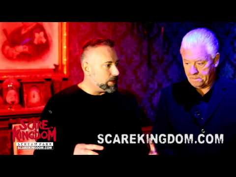 World famous psychic medium Derek Acorah Investigates Scare Kingdom Scream Park