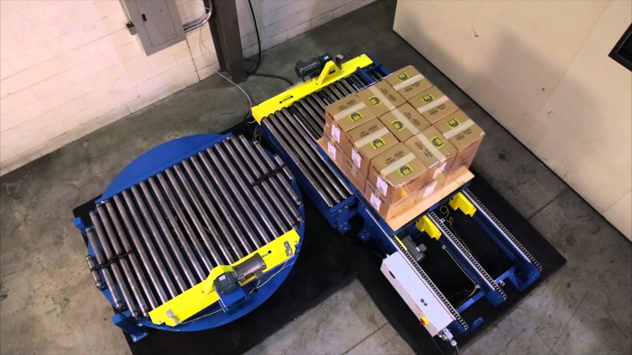 Alba Manufacturing Drag Chain Transfer Conveyor And