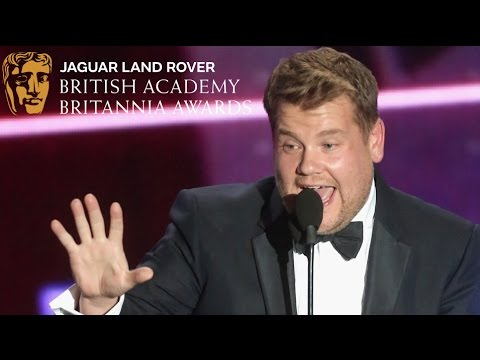 "James Corden: ""Back Off, Streep!"" - 2015 British Academy Britannia Awards"