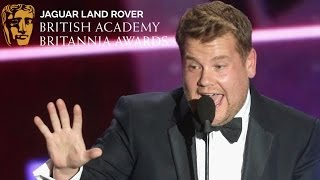"James Corden: ""Back Off, Streep!"" - 2015 British Academy Britannia Awards"