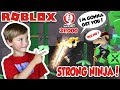 I AM STRONGEST NINJA ASSASSIN in THE SERVER! (Roblox)