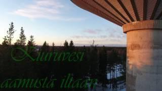 Kiuruvesi aamusta iltaan (ilmakuvaa)