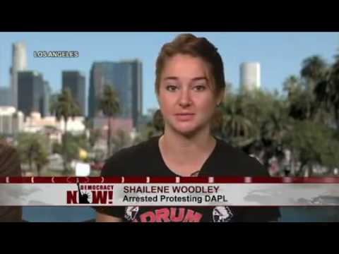 Shailene Woodley on being arrested protesting the Dakota Access pipeline