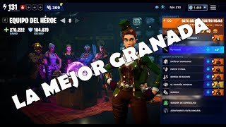 "HEROES TEAM GUIDE ""THE BEST GRANADA OF THE GAME"" / FORTNITE SAVE THE WORLD"
