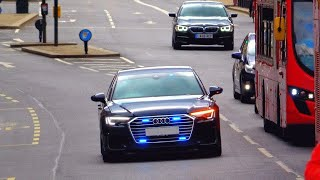 Unmarked Audi A6 50 TDI Quattro S-Line emergency vehicles