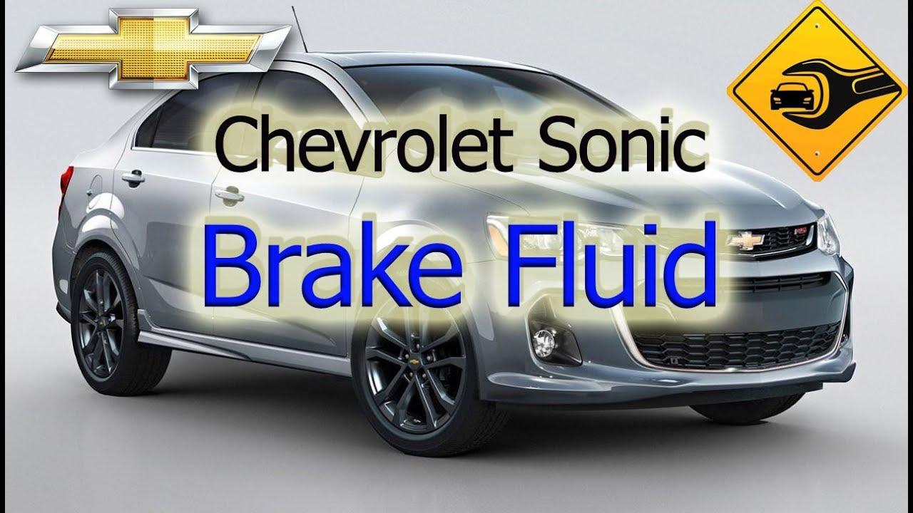 Chevrolet Sonic Repair Manual: Master Cylinder Reservoir Filling