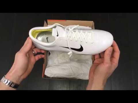 7aad44acb32 Nike Mercurial Vapor iii White Launch Edition Football Boot Box Opening