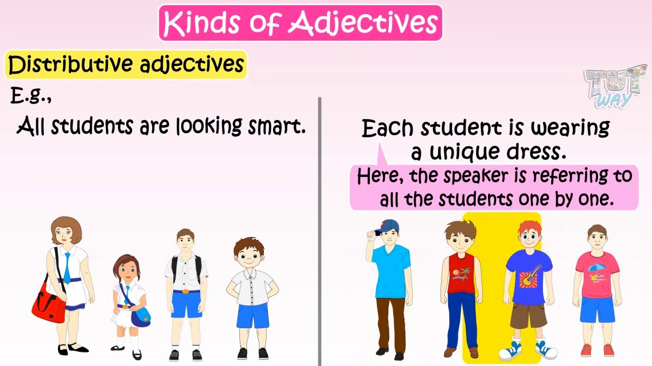 hight resolution of Kinds Of Adjectives - Part 1   English   Grade-4