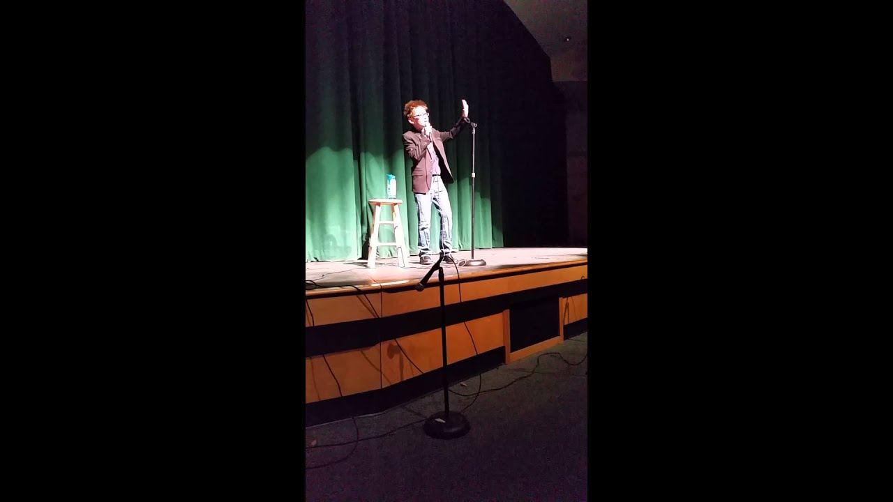 Schalmont middle school talent show 2016, 11 year old comedian