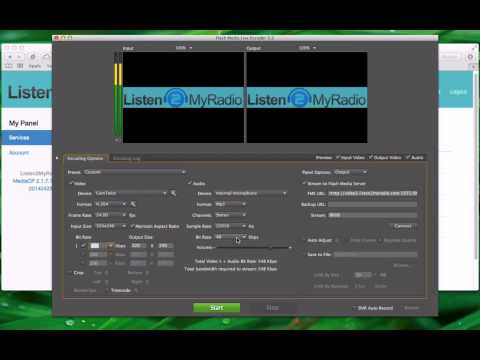 Video Package - Live Broadcasting With Adobe Flash Media Live Encoder