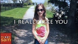 I REALLY LIKE YOU - CARLY RAE JEPSEN | 9-YEAR-OLD BELLA