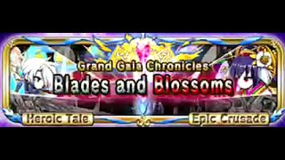 Brave Frontier (Grand Gaia Chronicle) - Sefia & Kikuri Blade & Blossoms Level 3