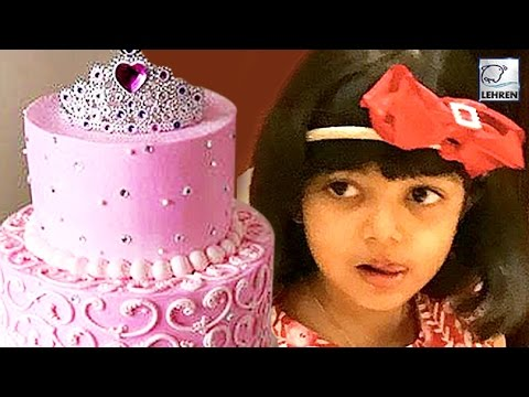 Aaradhya Bachchan S Huge Birthday Cake 2017 Lehv