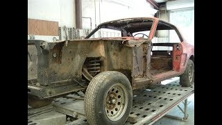 1965 Ford Mustang  Restoration Project