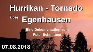 Hurrikan Tornado Unwetter Hagel Sturm 72227 Egenhausen Kreis Calw 07.08.2018