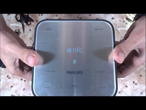 Philips BT Speaker with Clock Radio SB170 Review