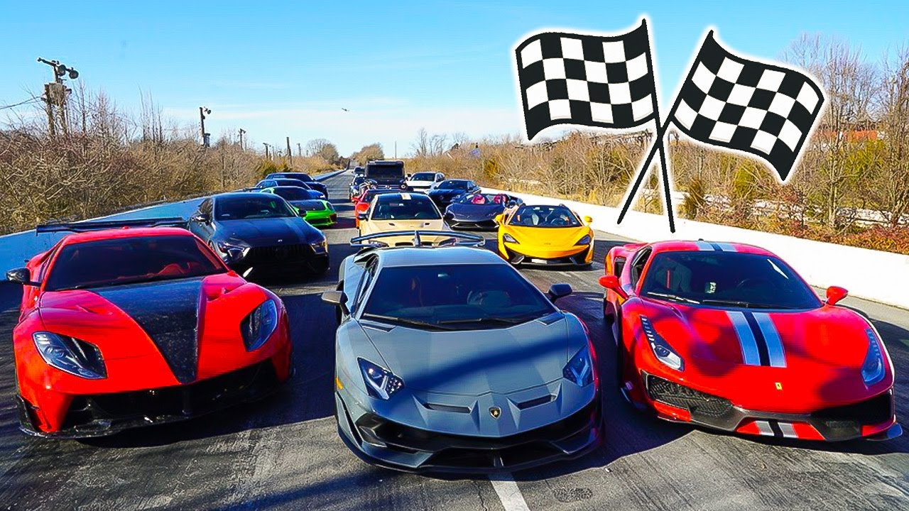 WORLD'S GREATEST DRAG RACE! - download from YouTube for free
