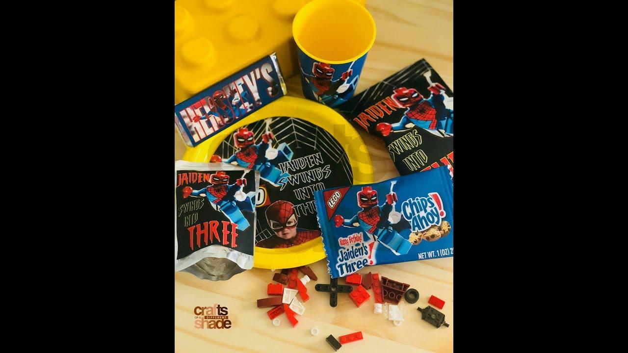 Hersheys Chocolate Candy Bar Wrapper Lego Theme Microsoft