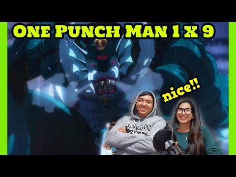 One Punch Man Season 1 Episode 9 Full Reaction