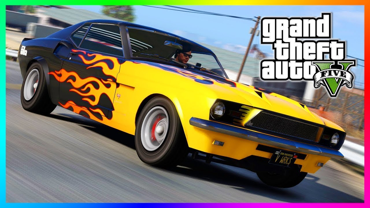 Classic Muscle Cars In Gta