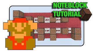"Super Mario Bros ""Death"" Doorbell - Note Block ""Tutorial"" (Minecraft Xbox 360/One/Ps3/Ps4)"