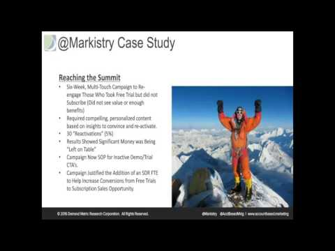 """Vendemore: ABM Consortium Webinar """"The Case for ABM - Lessons from the Masters"""""""