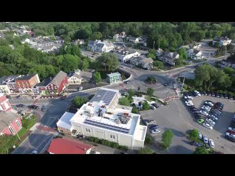 The Vermont News Guide Drone Soars Over Manchester, VT