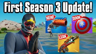 All The New Changes From The First Season 3 Update!   Fortnite Battle Royale