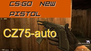 Counter Strike CSGO CZ75-auto guide and review